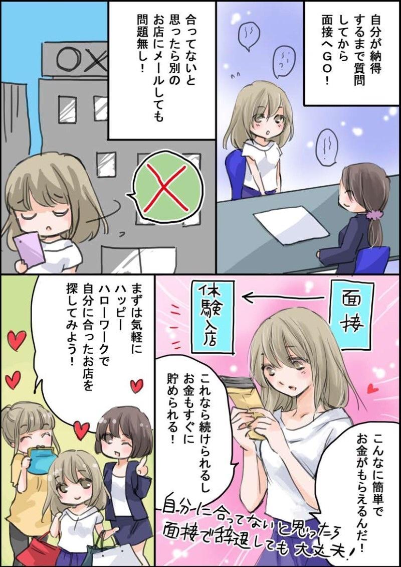 ハッピーハローワークの紹介マンガ(page4)
