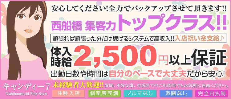 千葉・ピンクサロン・キャンディー7の風俗求人情報