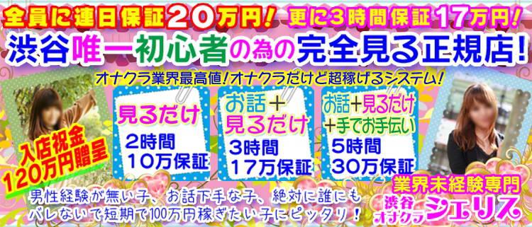 渋谷・オナクラ・オナクラ専門店 シェリスの風俗求人情報