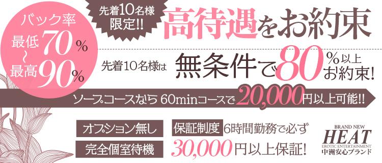 中洲・ヘルス・ブランニューヒートの風俗求人情報