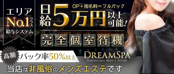 メンズエステ(非風俗)・DreamSpa~ドリームスパ