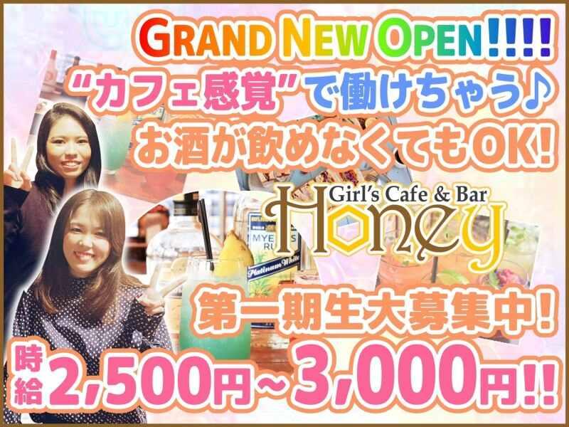 ガールズバー・girs and cafe bar Honey(ハニー)