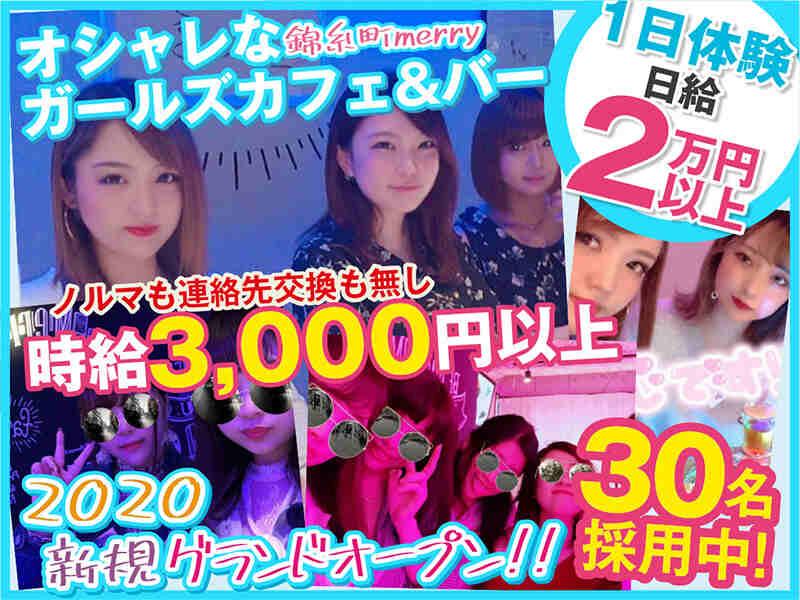 ガールズバー・Girls Cafe and Bar Merry 錦糸町店