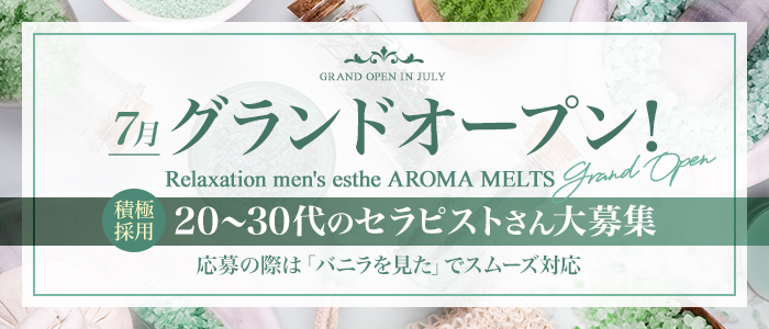 メンズエステ(非風俗)・アロマメルツ AROMA MELTS