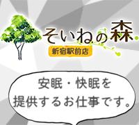 新宿・添い寝専門店・そいねの森新宿駅前店の高収入求人情報 PRポイント