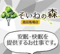 新宿・添い寝専門店・そいねの森高田馬場店の高収入求人情報 PRポイント